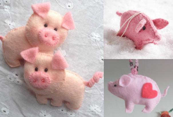 Свинки на Новый год 2019