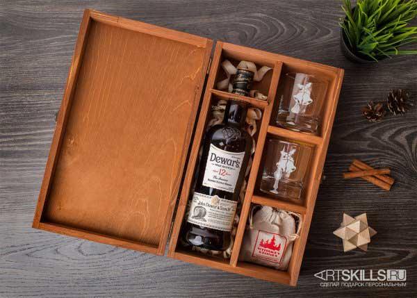 Набор для виски в подарочной упаковке